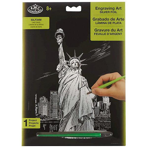 Купить SILF 34 Гравюра Статуя Свободы серебро, Royal&Langnickel, Швейцария, Унисекс