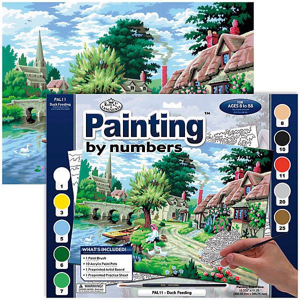 Купить PAL 11 Раскраска красками На берегу , Royal&Langnickel, Швейцария, Унисекс