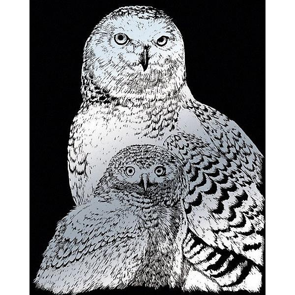 Купить SILF 43 Гравюра Полярные совы серебро, Royal&Langnickel, Швейцария, Унисекс