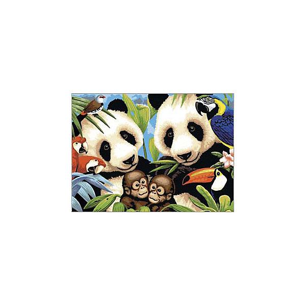 Royal&Langnickel Картина по номерам Исчезающие животные, 28,5х35 см