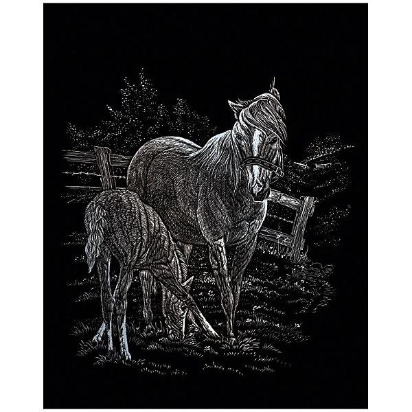 Купить SILF 15 Гравюра Лошадь с жеребенком серебро, Royal&Langnickel, Швейцария, Унисекс