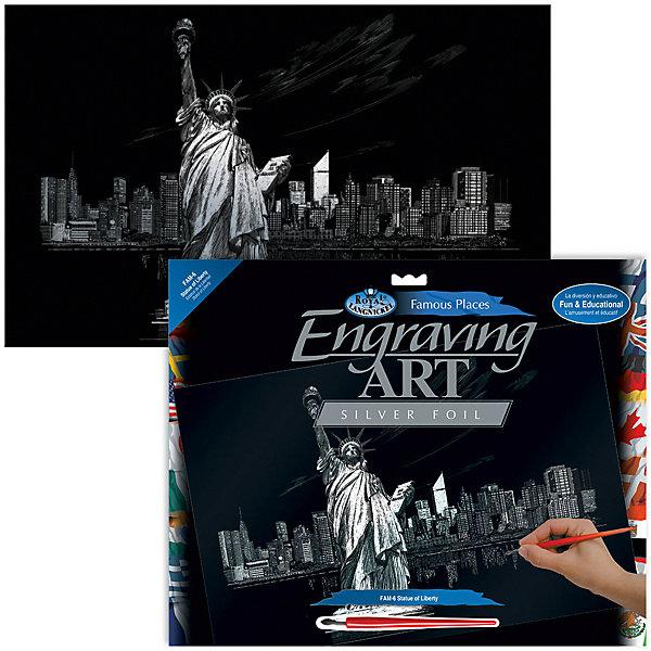 Купить Гравюра Royal&Langnickel Статуя Свободы , серебро, Швейцария, Унисекс