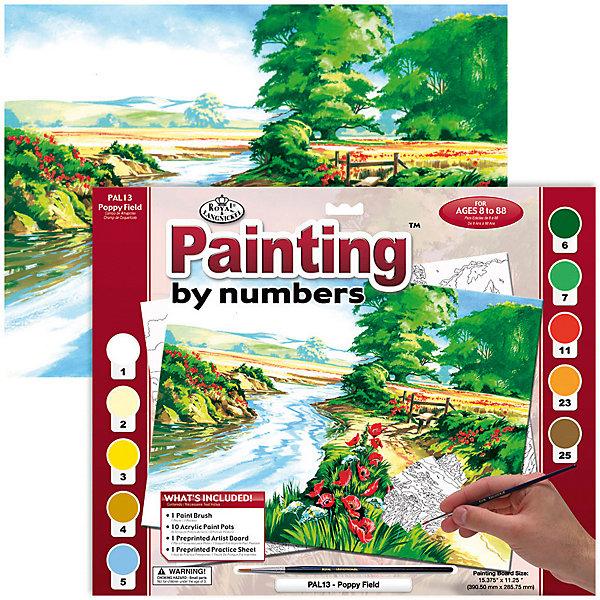 Купить PAL 13 Раскраска красками Маковое поле , Royal&Langnickel, Швейцария, Унисекс