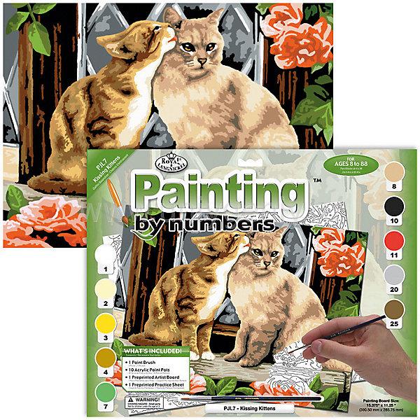Купить Картина по номерам Royal&Langnickel Котята , 28, 5х35 см, Китай, Унисекс