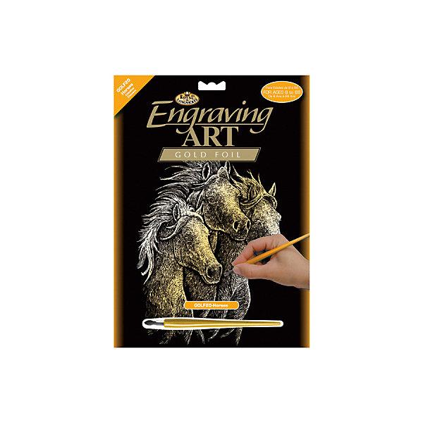 Купить GOLF 20 Гравюра Лошади золото, Royal&Langnickel, Швейцария, Унисекс