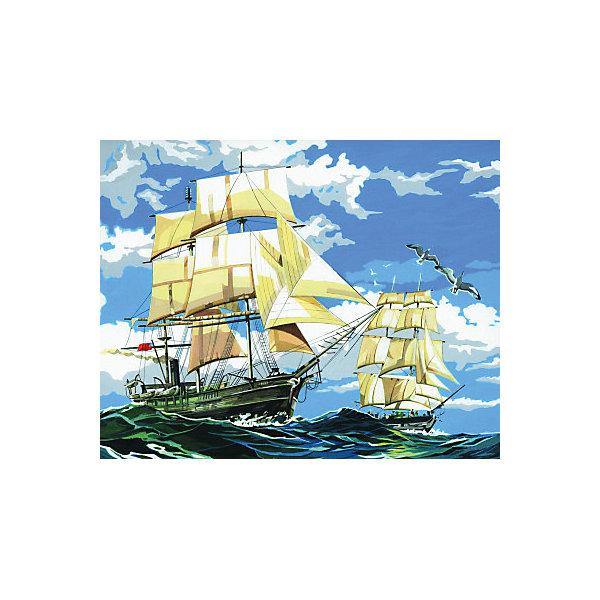 Купить Картина по номерам на холсте Royal&Langnickel Парусники , 28х35 см, Китай, Унисекс