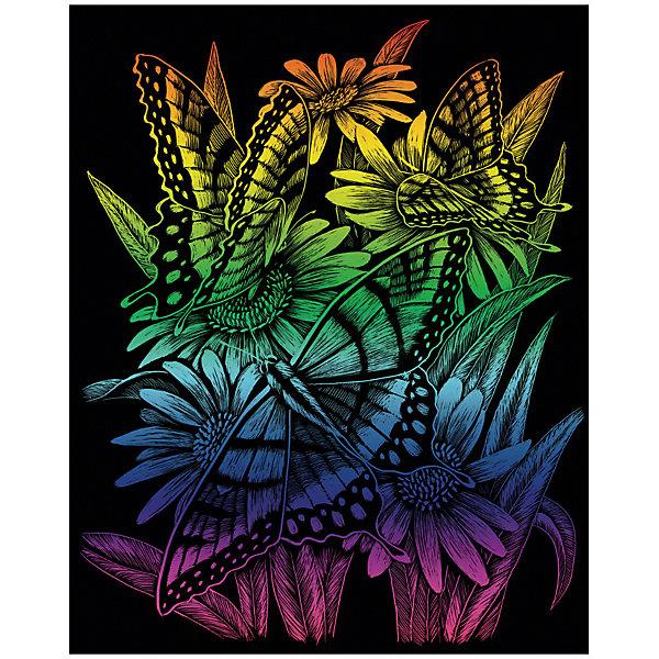 Купить RAIN 27 Гравюра радужная Цветы и бабочки , Royal&Langnickel, Швейцария, Унисекс