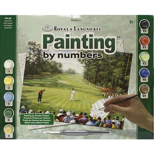 Купить PAL 29 Раскраска красками Гольф , Royal&Langnickel, Швейцария, Унисекс