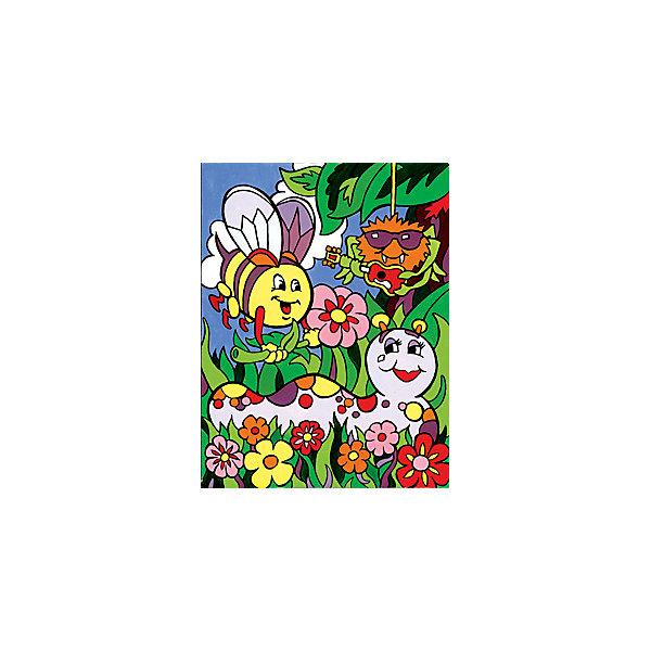 Купить Картина по номерам для малышей Royal&Langnickel Весёлые жучки , 22, 5х29, 8 см, Китай, Унисекс