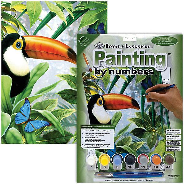 Купить PJS 53 Раскраска красками Тукан , Royal&Langnickel, Швейцария, Унисекс