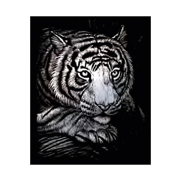 Купить SILF 38 Гравюра Тигр серебро, Royal&Langnickel, Швейцария, Унисекс