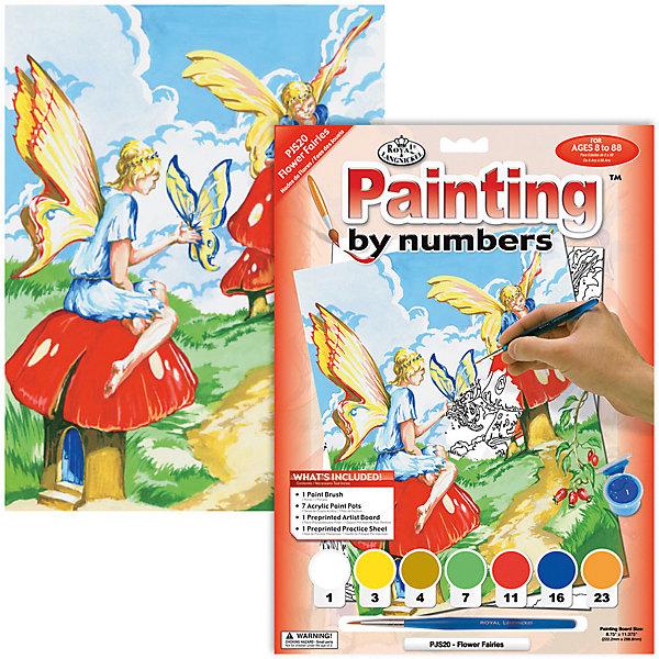 PJS 20 Раскраска красками Феи , Royal&Langnickel, Швейцария, Унисекс  - купить со скидкой