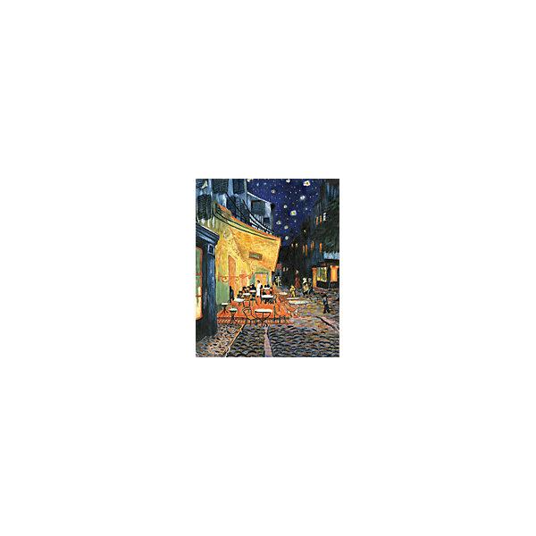 Royal&Langnickel Картина по номерам на холсте Гризайль Ночное кафе, 28х35 см