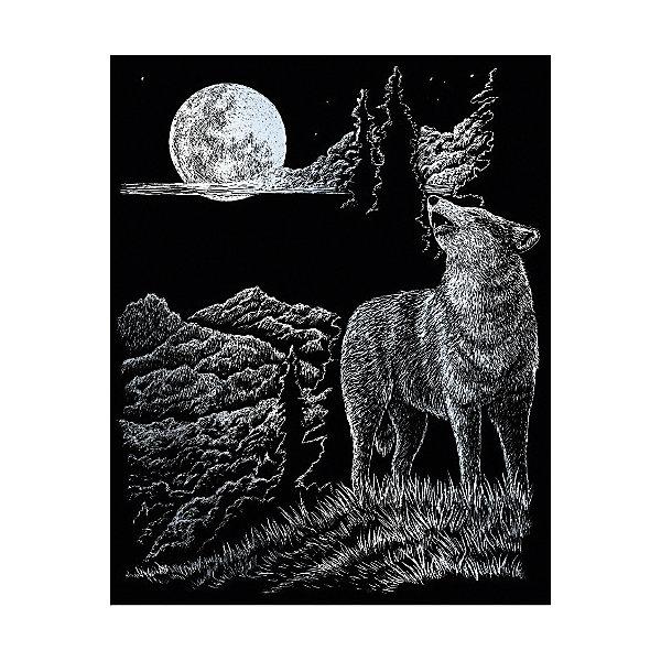 Купить SILF 33 Гравюра Волк серебро, Royal&Langnickel, Швейцария, Унисекс