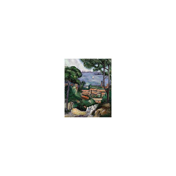 Купить Картина по номерам на холсте Гризайль Royal&Langnickel Вид на Эстак , 28х35 см, Китай, Унисекс