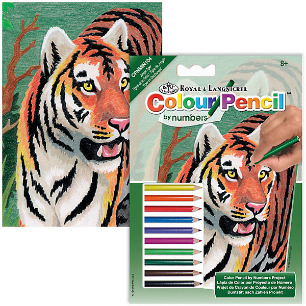 Royal&Langnickel Мини-карти по номерам карандашами Royal&Langnickel