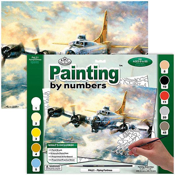 Купить PAL 21 Раскраска красками Летающая крепость , Royal&Langnickel, Швейцария, Унисекс