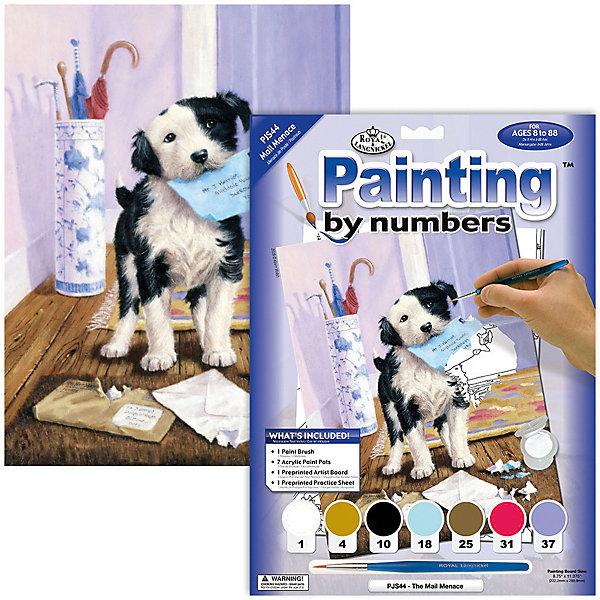 Купить Картина по номерам Royal&Langnickel Почтальон , 22х29 см, Китай, Унисекс