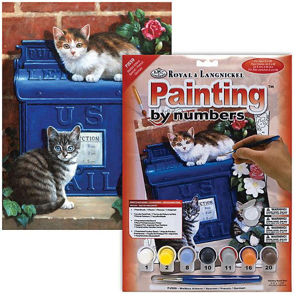 Купить PJS 59 Раскраска красками Котята , Royal&Langnickel, Швейцария, Унисекс