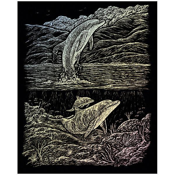 Royal&Langnickel Гравюра Дельфин, голографическая