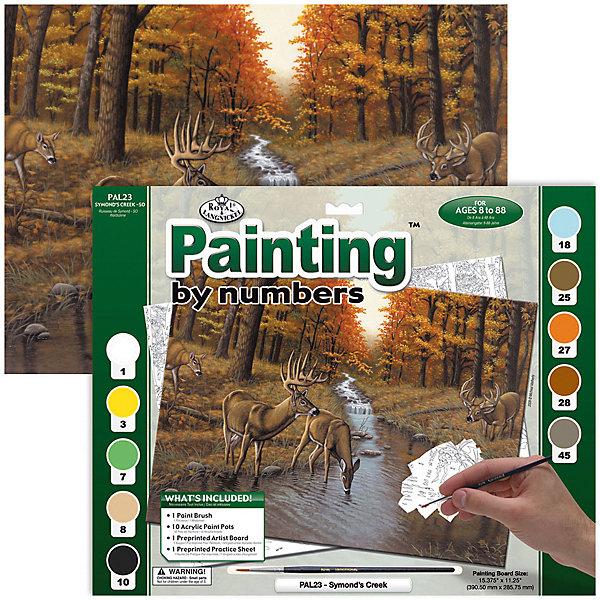 Купить PAL 23 Раскраска красками У ручья , Royal&Langnickel, Швейцария, Унисекс