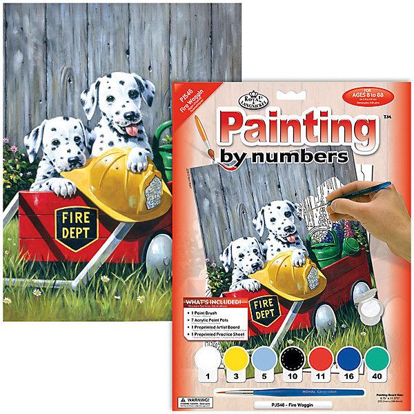 Royal&Langnickel Картина по номерам Royal&Langnickel Пожарная команда, 22х29 см цена