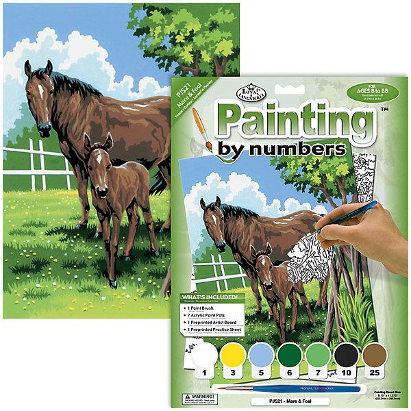Купить Картина по номерам Royal&Langnickel Лошади , 22х29 см, Китай, Унисекс