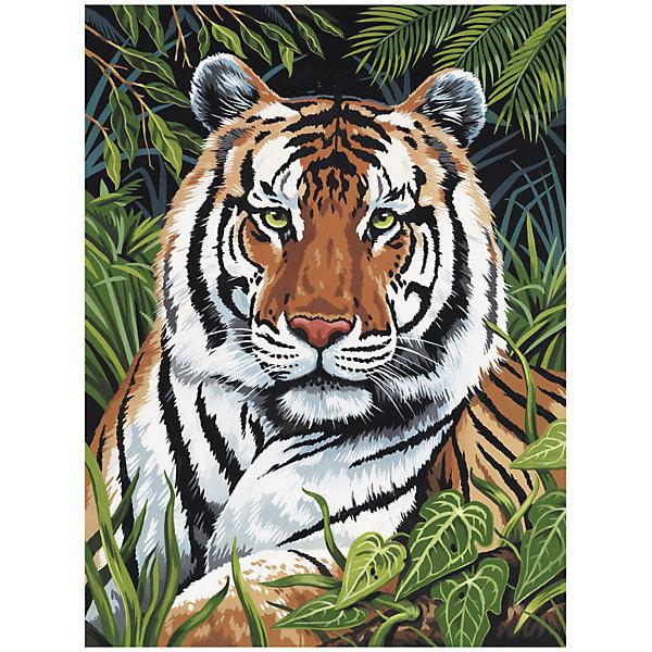 Купить PJS 75 Раскраска красками Тигр , Royal&Langnickel, Швейцария, Унисекс