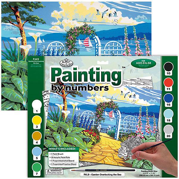 Купить PAL 09 Раскраска красками Вид на море , Royal&Langnickel, Швейцария, Унисекс
