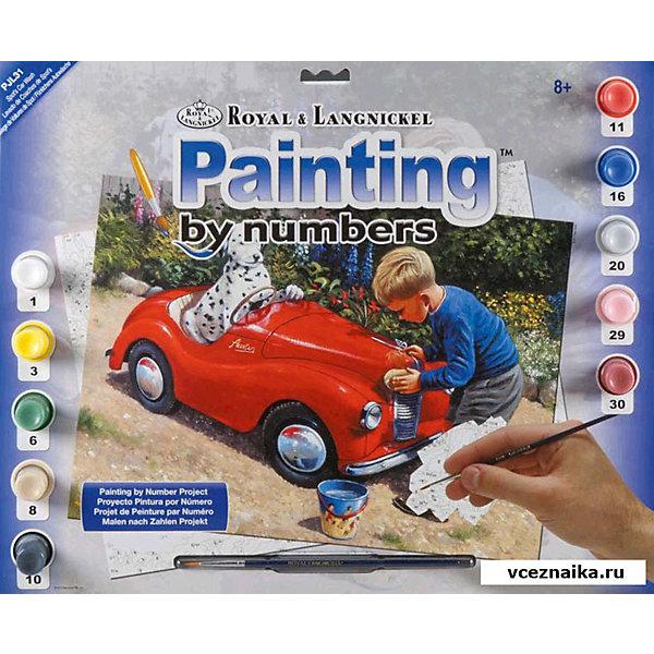 Купить Картина по номерам Royal&Langnickel Мойка спорткара , 28, 5х35 см, Китай, Унисекс