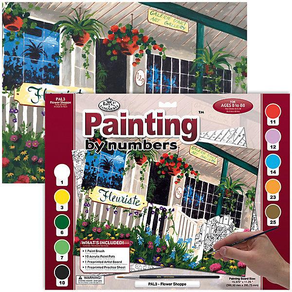 Купить PAL 03 Раскраска красками Цветочный магазин , Royal&Langnickel, Швейцария, Унисекс