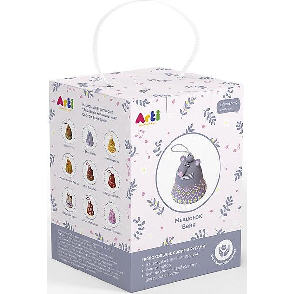 Arti Набор для создания глиняного колокольчика Arti Мышонок Веня