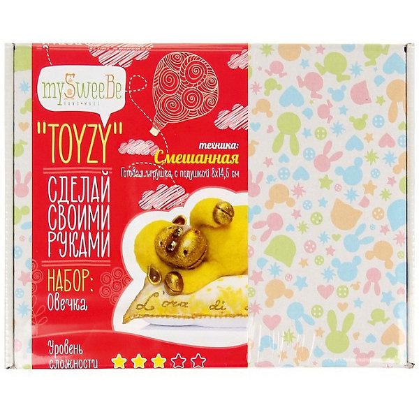 TOYZY Набор для творчества Toyzy Овечка набор для вязания и валяния toyzy овечка tz m002