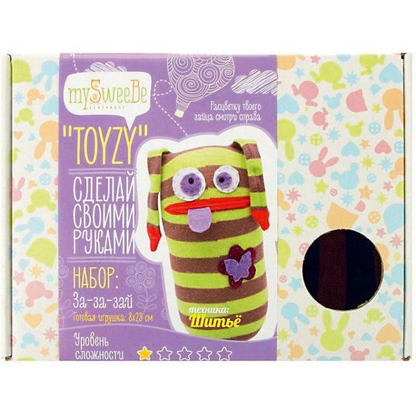 TOYZY Набор для шитья Toyzy За-за-зай toyzy набор для шитья игрушки за за зайцы