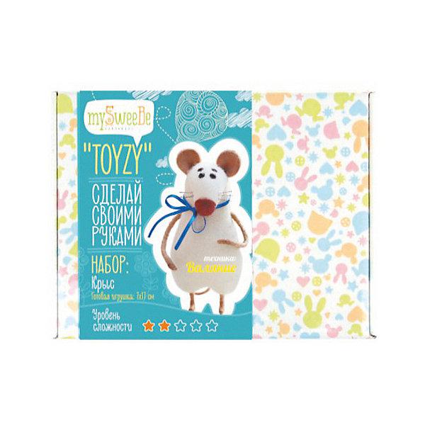 TOYZY Набор для валяния Toyzy Крыс toyzy набор для шитья игрушки за за зайцы
