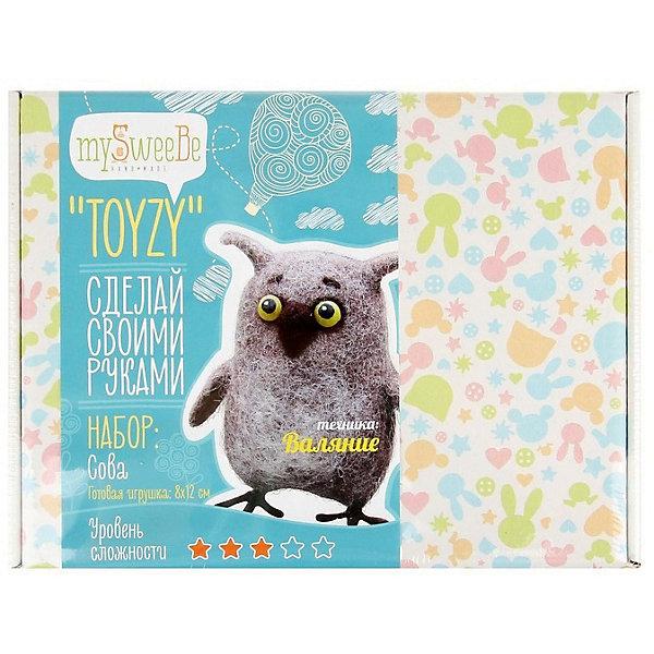 TOYZY Набор для валяния Toyzy Сова toyzy набор для шитья игрушки за за зайцы