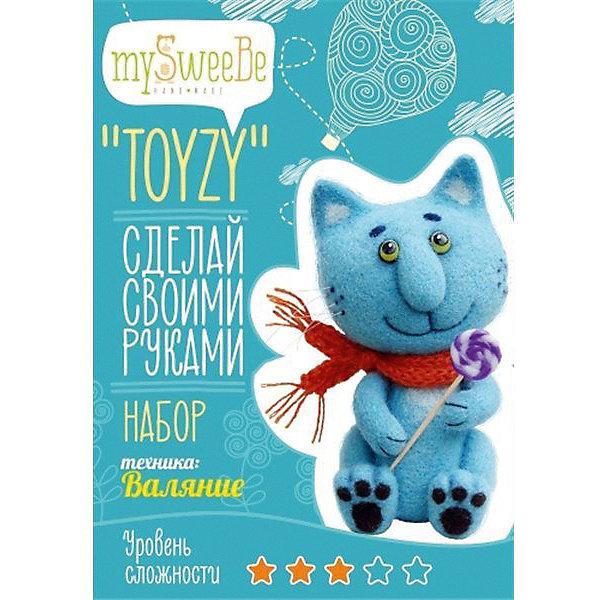 цена на TOYZY Набор для валяния Toyzy Синий кот