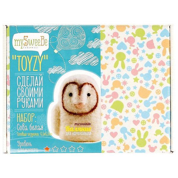 TOYZY Набор для валяния Toyzy Белая сова toyzy набор для шитья игрушки за за зайцы