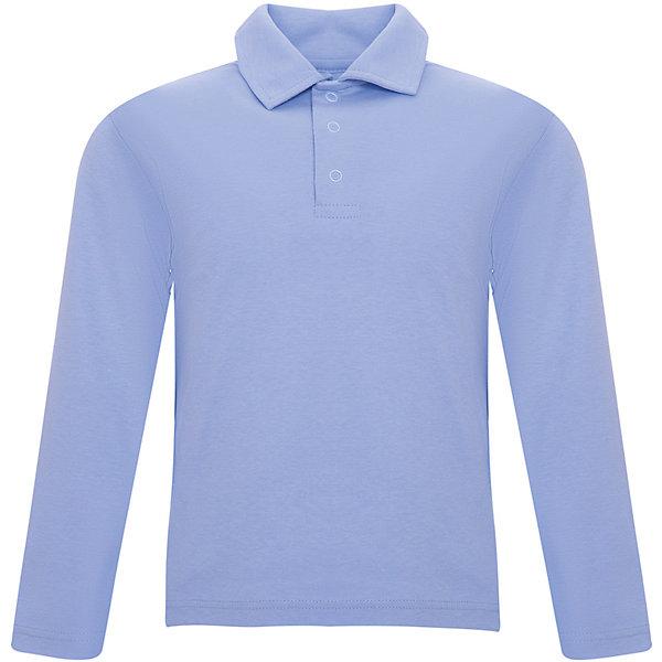 Поло Белый снегБлузки и рубашки<br>Характеристики товара:<br><br>• пол: мальчики<br>• состав ткани: 100% хлопок<br>• сезон: демисезон<br>• тип: поло<br>• воротник на пуговицах<br>• длинные рукава<br>• комфорт и качество<br>• страна бренда: Россия<br><br>Практичная футболка-поло для мальчика - идеальный вариант для школы и повседневной носки. Сделана из натурального качественного материала, комфортно сидит, не вызывает неудобств. Детская футболка-поло легко надевается и снимается, благодаря трем пуговицам спереди на воротнике. Такая футболка-поло будет хорошо сочетаться с другими предметами гардероба.<br><br>Детская одежда «Белый снег» - это неизменно высокое качество и модные тенденции в каждой модели!
