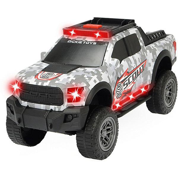 Купить Машинка Dickie Toys Scout Ford F150 Raptor, 33 см, свет и звук, Китай, Мужской