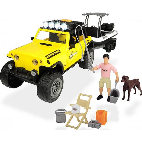Dickie Toys Игровой набор рыбака Dickie Toys Ford Rapto PlayLife игровой набор dickie toys playlife набор туриста