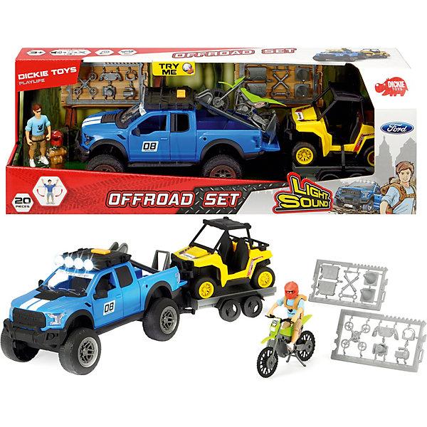 цена на Dickie Toys Игровой набор покорителя бездорожья Dickie Toys PlayLife