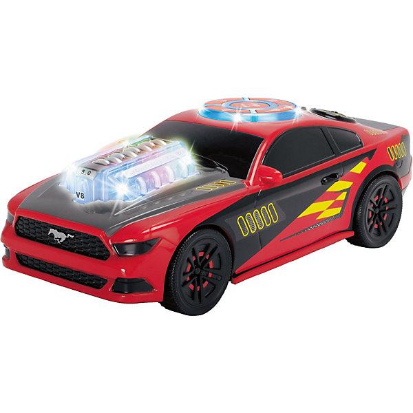 Dickie Toys Машинка Dickie Toys Музыкальный гонщик, 23 см, свет и звук каталка машинка r toys bentley пластик от 1 года музыкальная красный 326