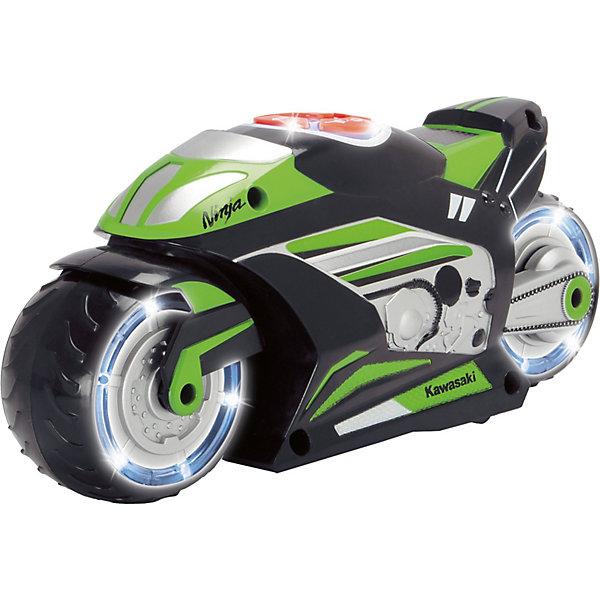 Музыкальный мотоцикл Dickie Toys, 23 см, свет и звук