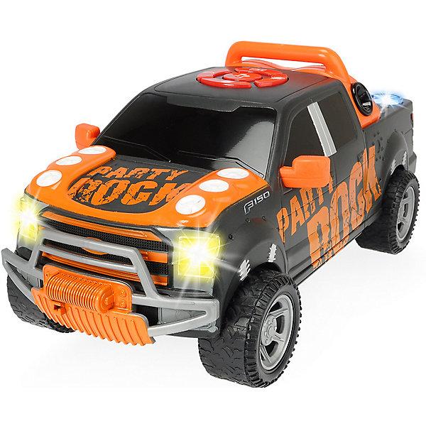 Dickie Toys Машинка Dickie Toys Форд F-150 Party Rock Anthem, 29 см, свет и звук каталка машинка r toys bentley пластик от 1 года музыкальная красный 326