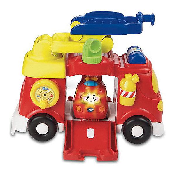 Купить Игровой набор Vtech Большая и малая пожарные машины , Китай, разноцветный, Унисекс