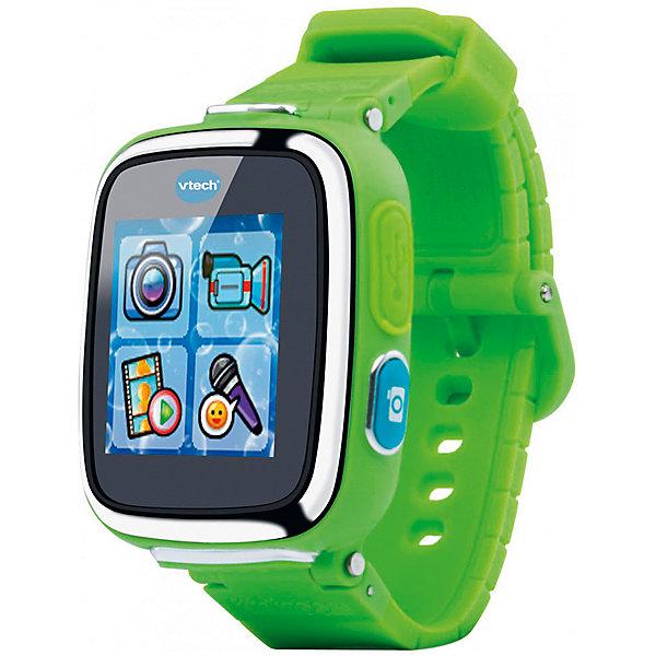 Vtech Детские наручные часы Kidizoom SmartWatch DX, зеленые детские обучающие компьютеры электронные плакаты vtech kidizoom camera connect
