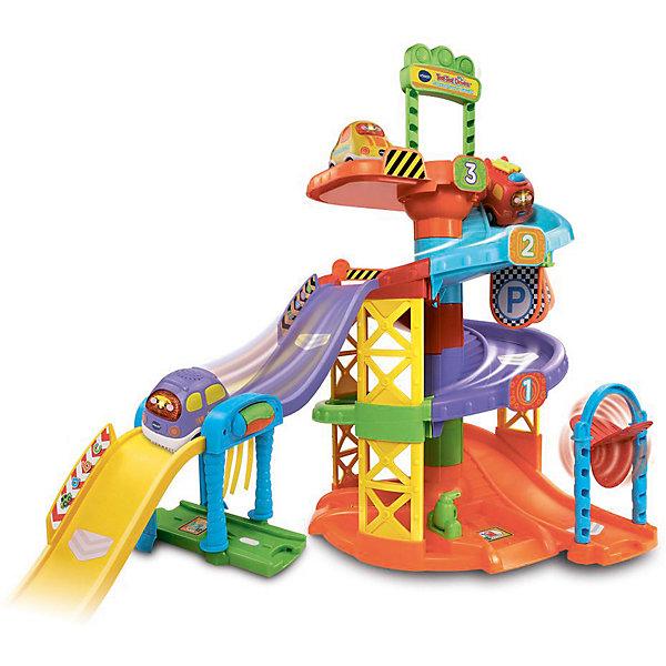 Vtech Игровой набор Vtech Парковочная башня набор игровой для мальчика poli средний трек с умной машинкой