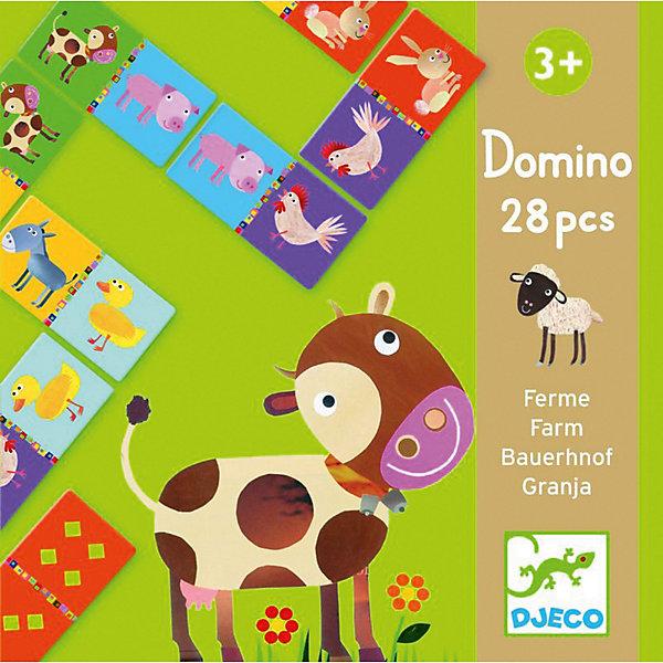 DJECO Домино Djeco Животные фермы