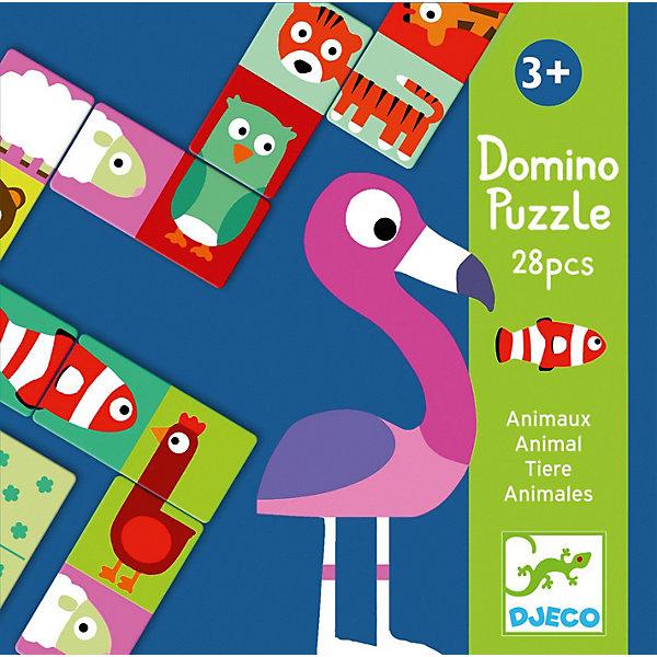 DJECO Домино Djeco Животные djeco набор карточек для раскрашивания животные